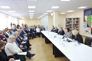 Совещание, посвященное опорным школам РАН